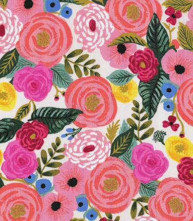 Tissu Juliet Rose - Cream