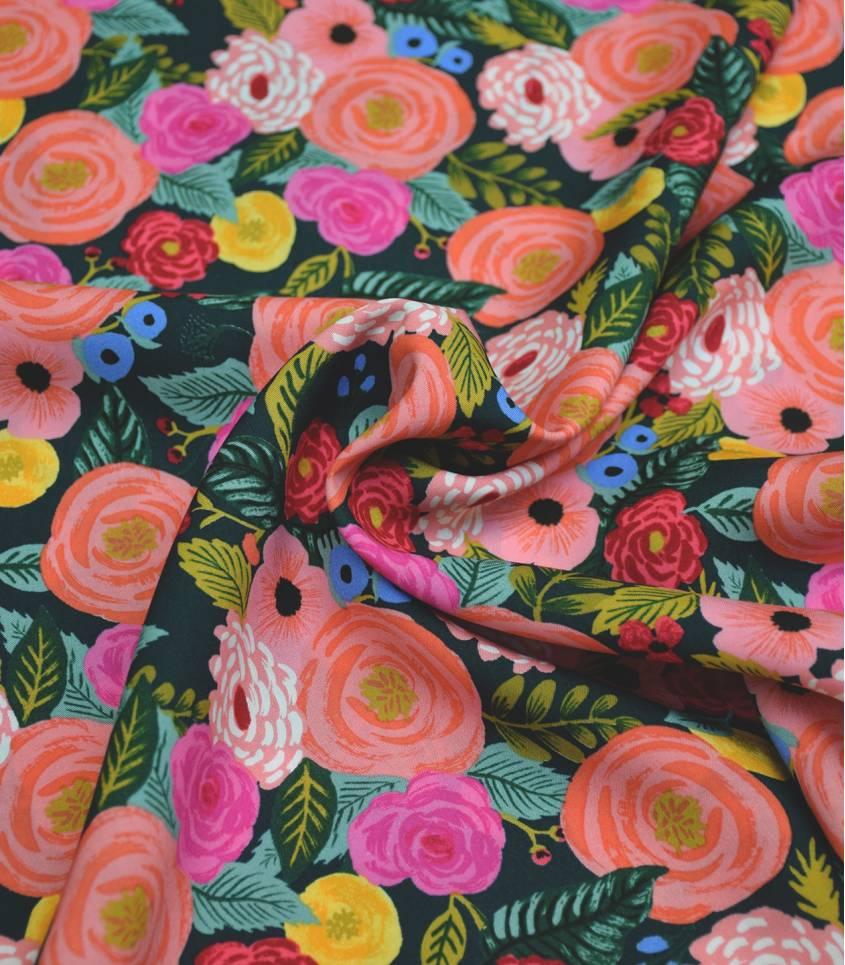 Tissu Juliet Rose - Green