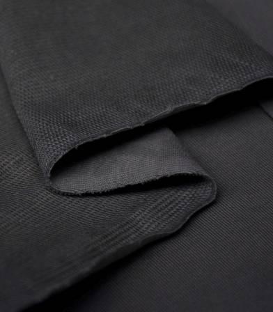 Tissu bio French terry - Black