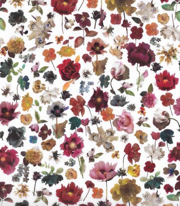 Tissu Liberty Floral Edit - sépia