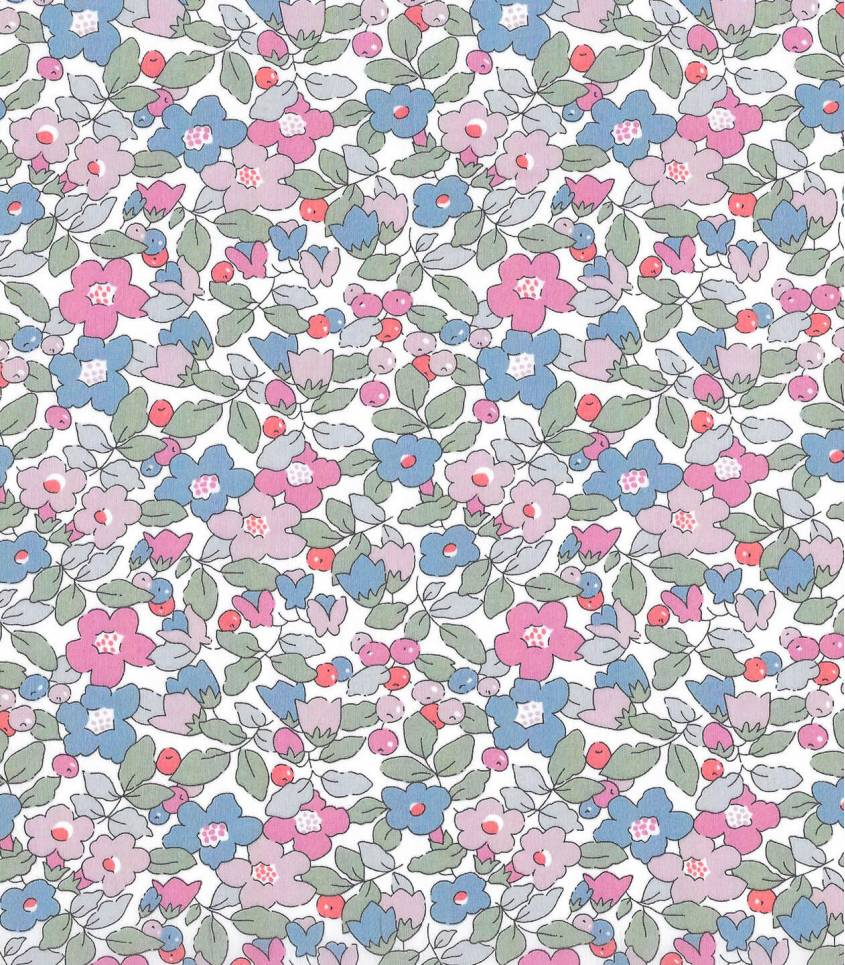 Tissu Liberty Betsy Berry - hortensia