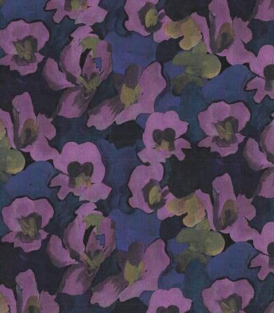 Tissu Liberty Jemma rose - purple