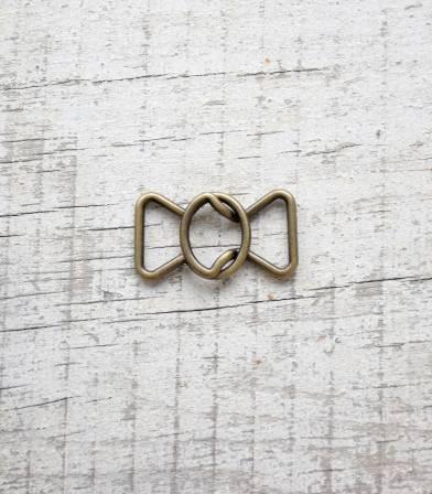 Boucle ceinture Noeud - Laiton 20mm
