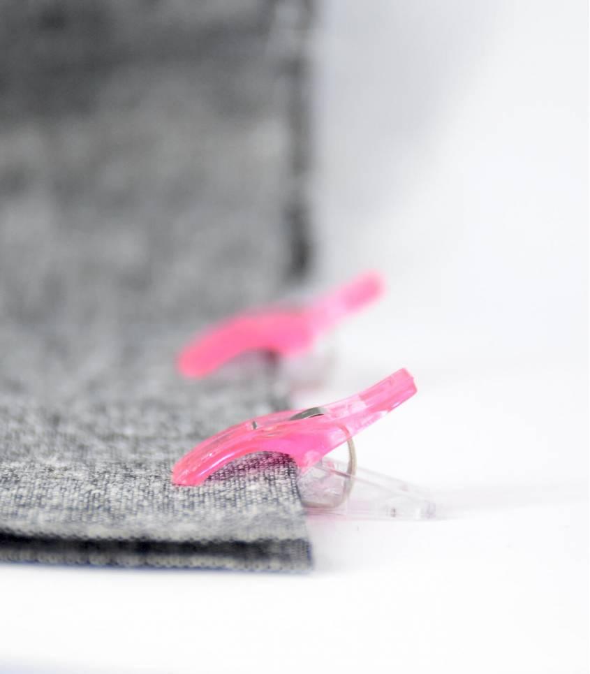 Pinces à tissus multico - small