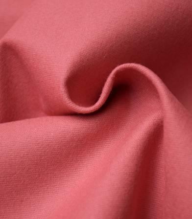 Tissu flanelle de coton - rose blush