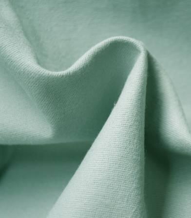 Tissu flanelle de coton - vert
