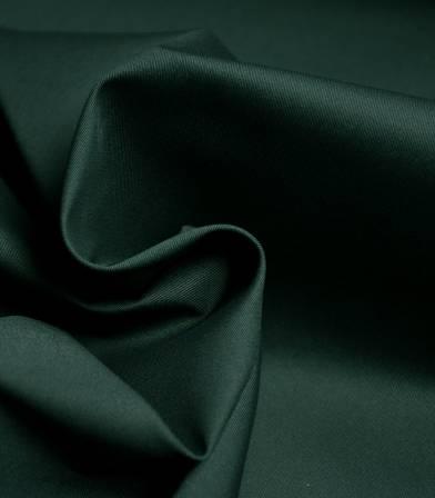 Tissu gabardine fine stretch - Vert