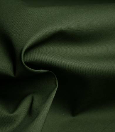 Tissu gabardine fine stretch - Kaki
