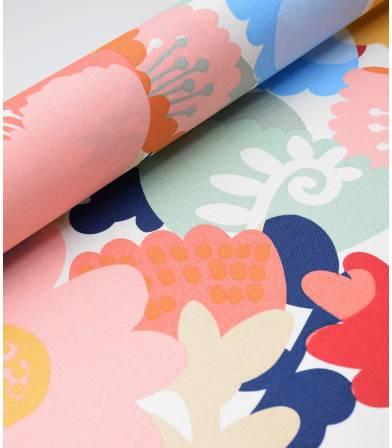 Tissu coton - Nordic flowers