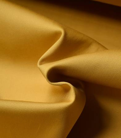 Tissu gabardine stretch - Yellow