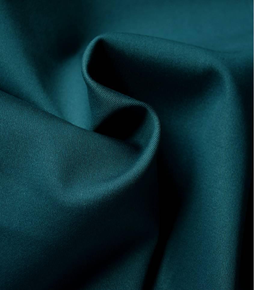Tissu gabardine stretch - Blue oil