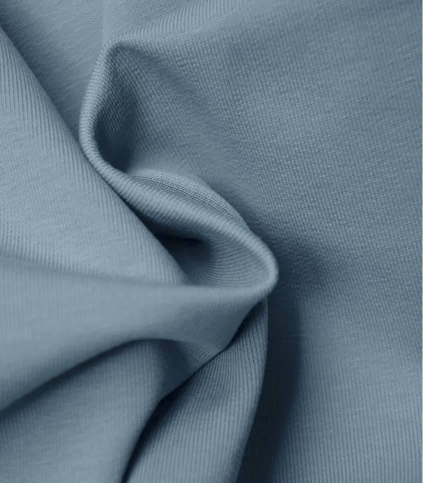 Tissu bio Jersey - Dusty blue