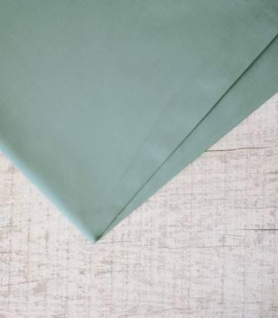 Tissu popeline de coton Dusty mint