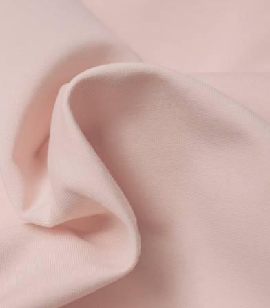Tissu bio French terry - Dusty rose