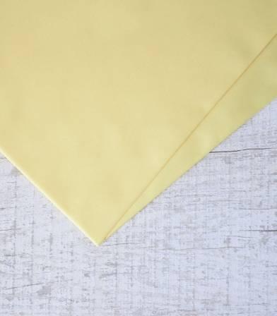 Tissu popeline de coton Dusty Yellow