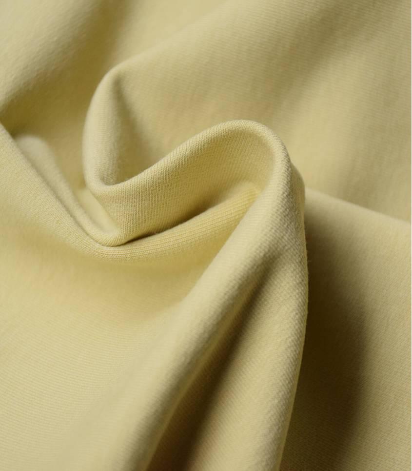 Tissu bio Jersey - Dusty Yellow