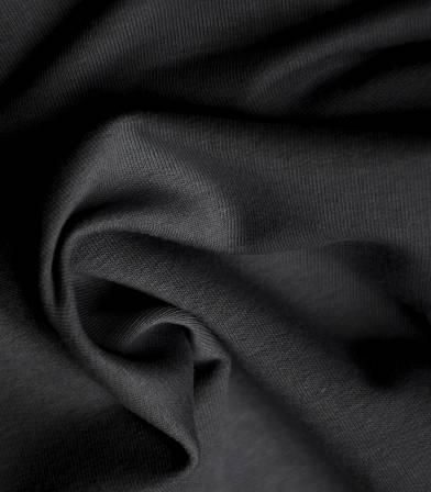 Tissu bio Jersey - noir