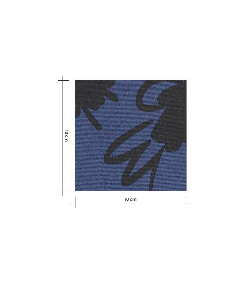 Tissu lyocell - Cachemire Anthracite