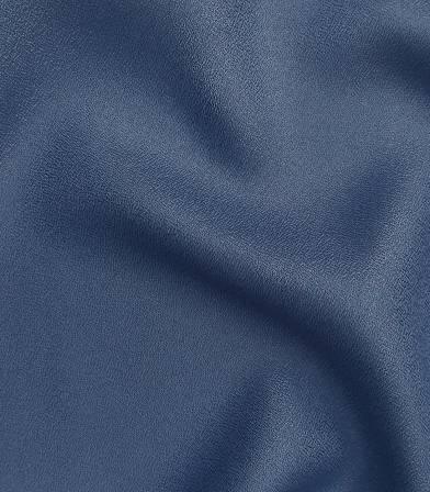 Tissu Crêpe AB Cobalt