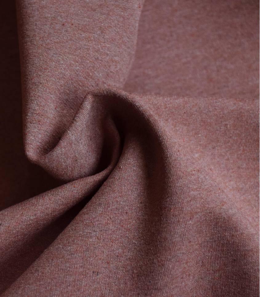 Tissu Jersey chiné - Blush
