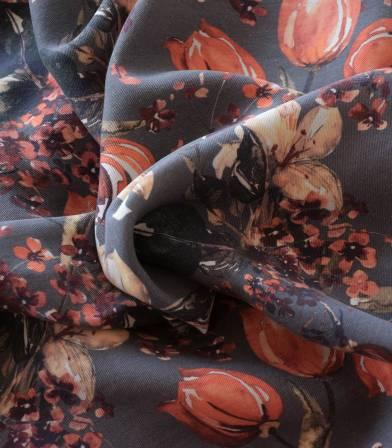 Tissu lyocell - Arroche Grey