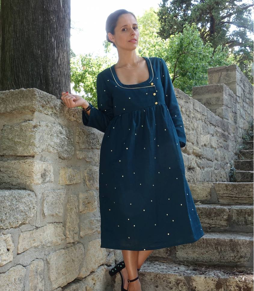 Patron Robe/ blouse Sybil