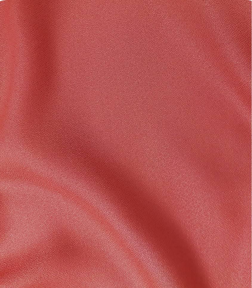 Tissu Crêpe AB Terracotta