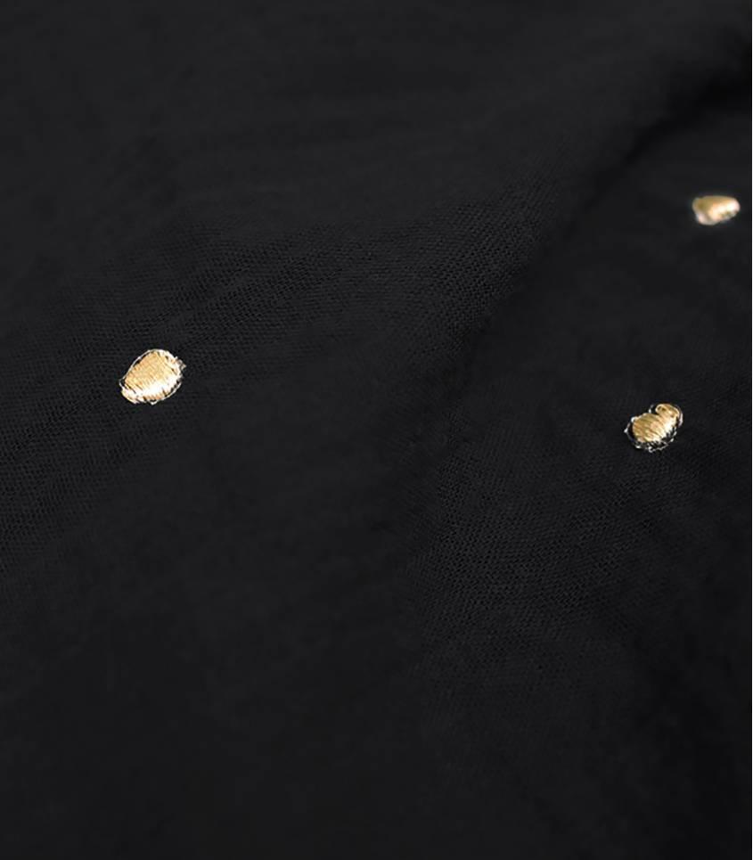 Tissu Stardust black