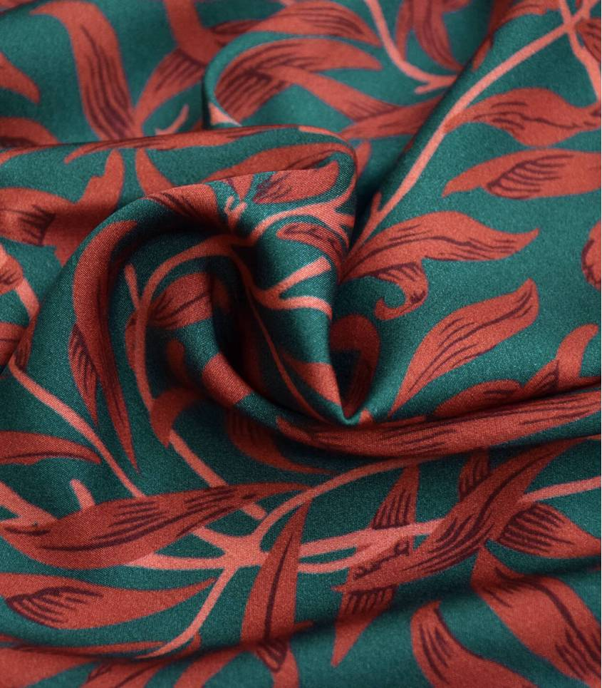 Tissu satin de viscose - Mistletoe