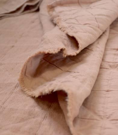Tissu jacquard Coton - Dauphine
