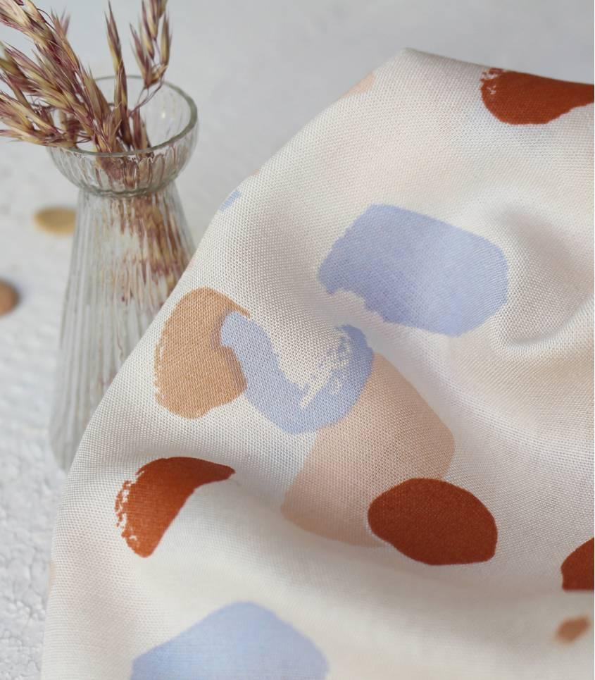 Tissu Granito off-white