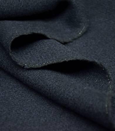 Tissu Lainage tricotine - Navy