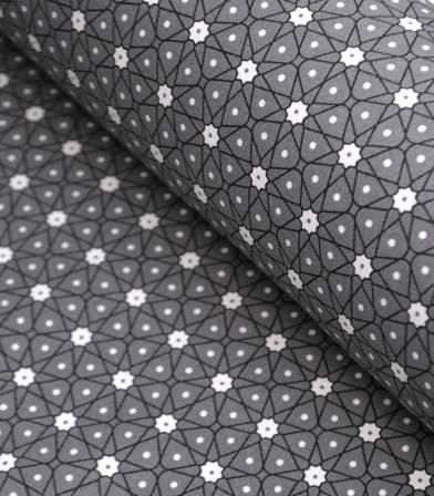 Tissu coton - Ceramik anthracite