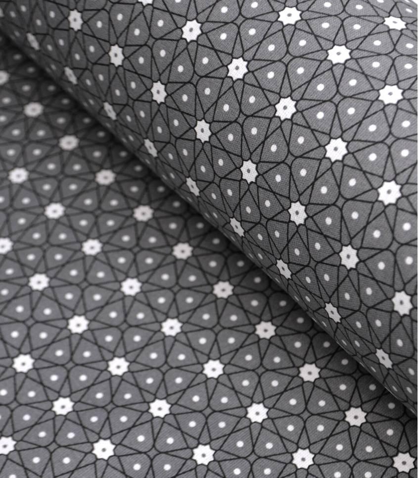 Tissu enduit - Ceramik Anthracite