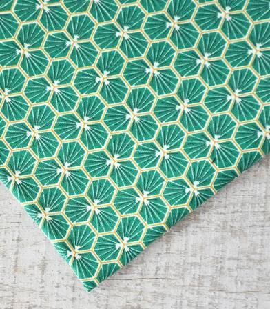 Tissu coton - Riad Green