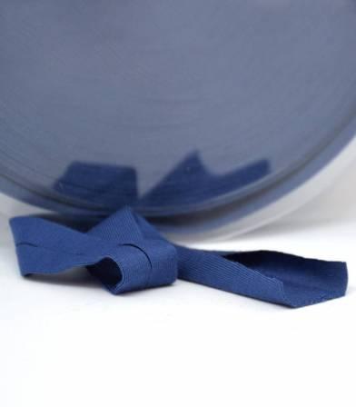 Biais jersey viscose - Bleu