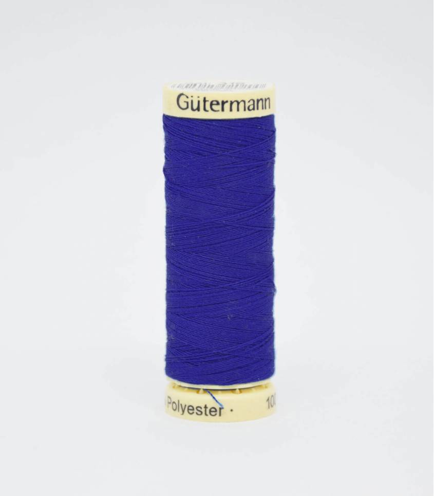 Fil à coudre Gütermann bleu lapis -218