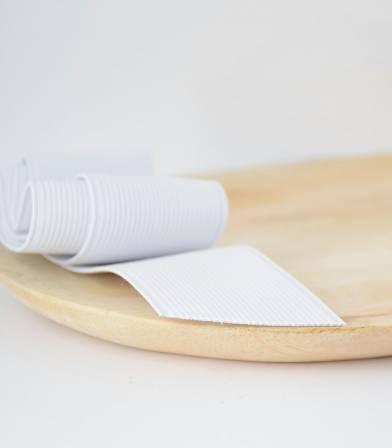 Elastique blanc 35mm