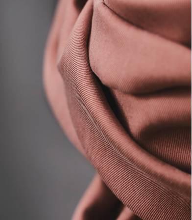 Tissu smooth dape twill  - Old Rose