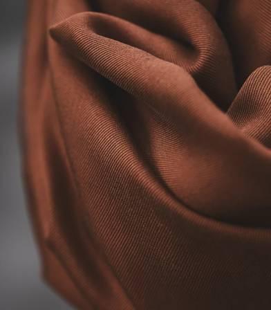 Tissu smooth dape twill  - Pecan