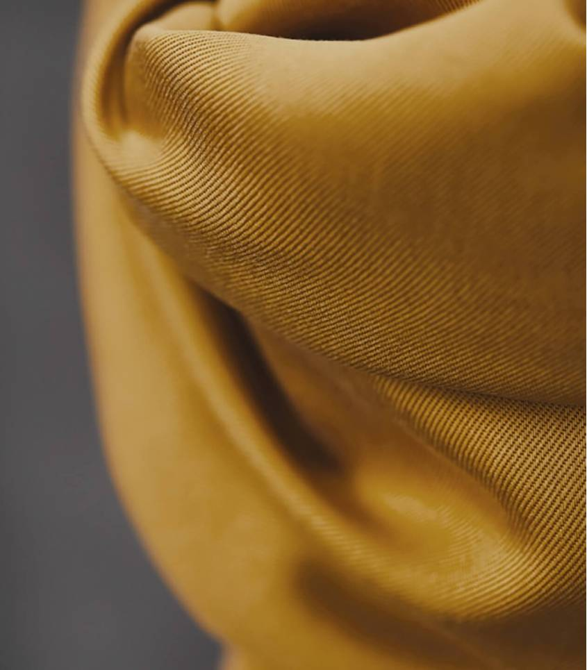 Tissu smooth dape twil - Amber