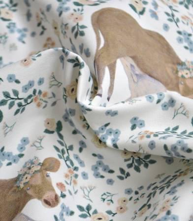 Tissu jersey - Pretty Cow