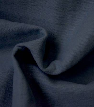 Tissu coton matelassé Tayio - Bleu navy