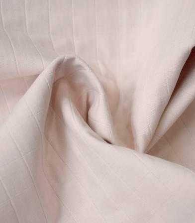 Tissu coton matelassé Tayio - Nude
