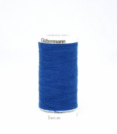 Cordelette -Denim - Gütermann bleu 6756