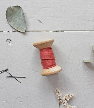 Biais - Crêpe terracotta