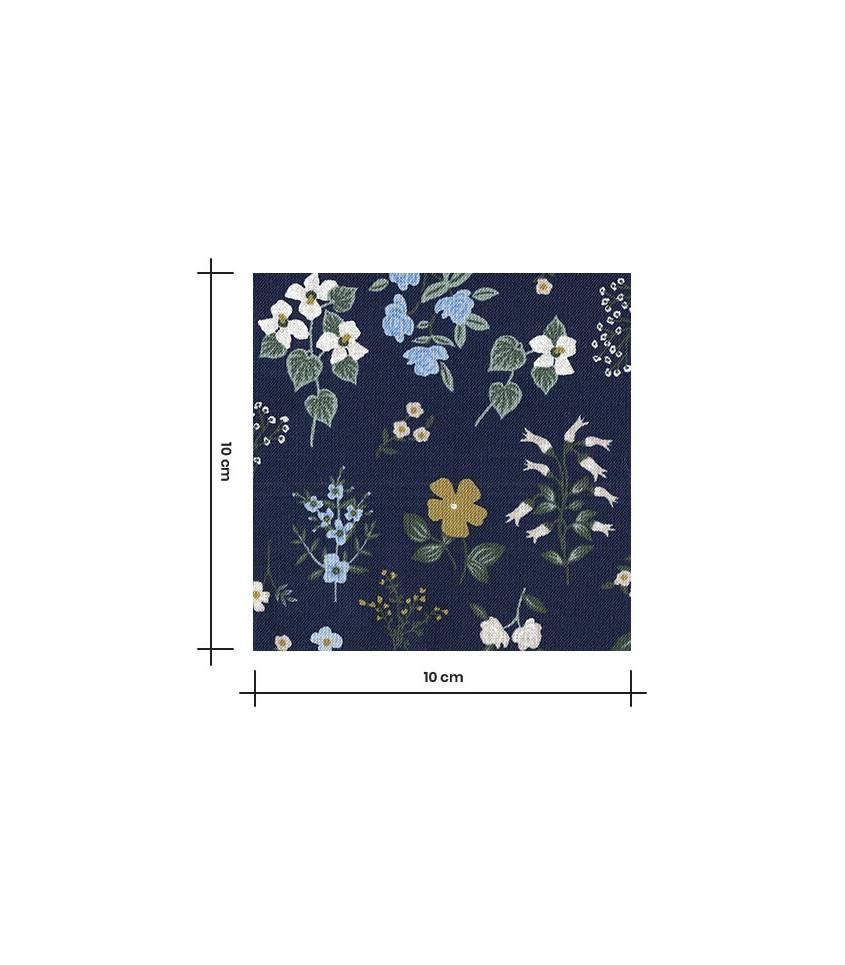 Tissu coton - Howthorne Navy