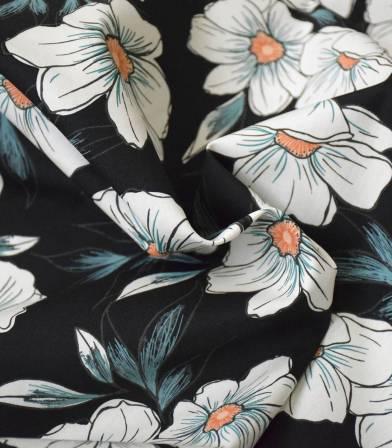 Tissu Tinted Blooms