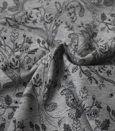 Tissu sweat - Squirrel Coord