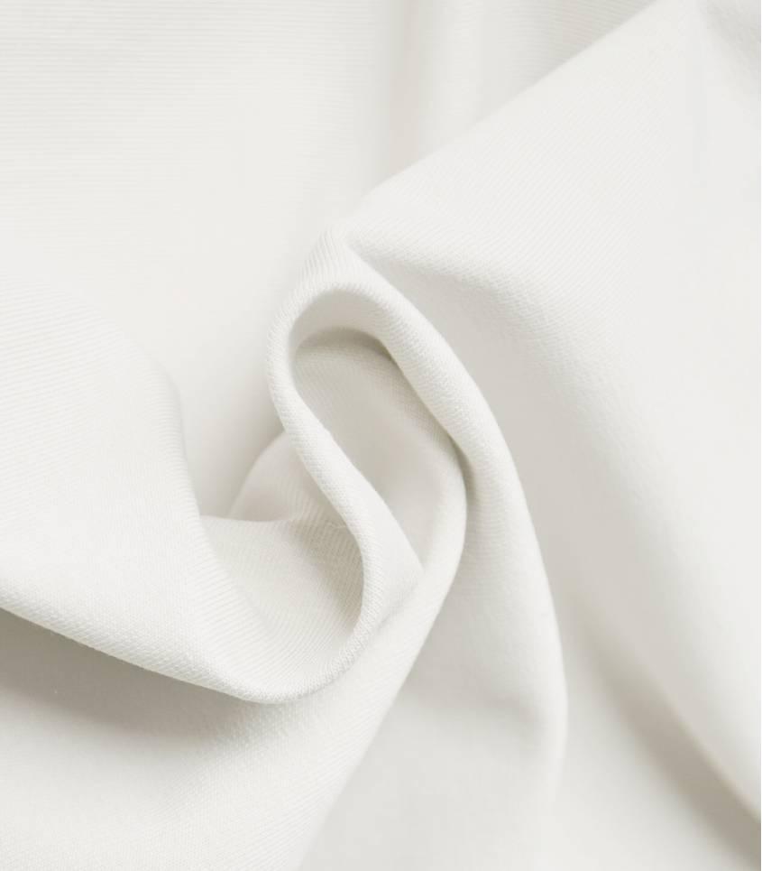 Tissu bio Jersey - White